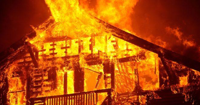 fire inmarathi