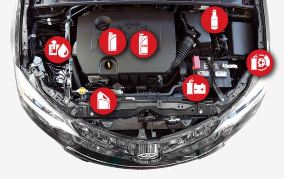 fluids of car