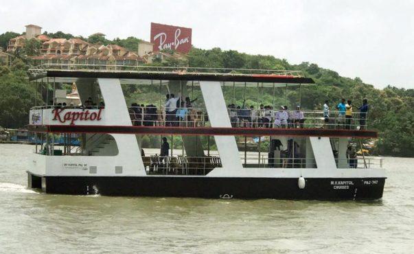 goa cruise inmarathi