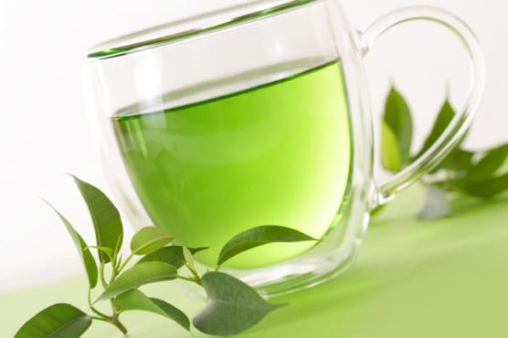 green tea inmarathi