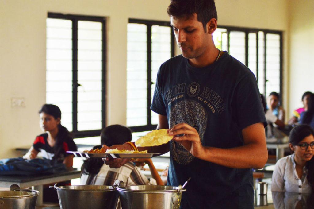 hostel boys food inmarathi