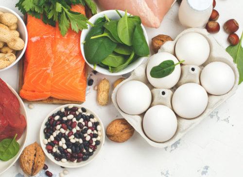 protein diet inmarathi