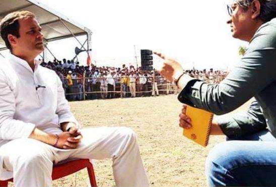 rahul gandhi and ravish kumar inmarathi