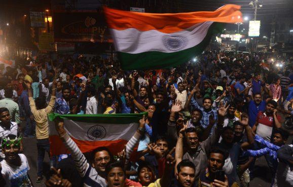 celebration of win inmarathi