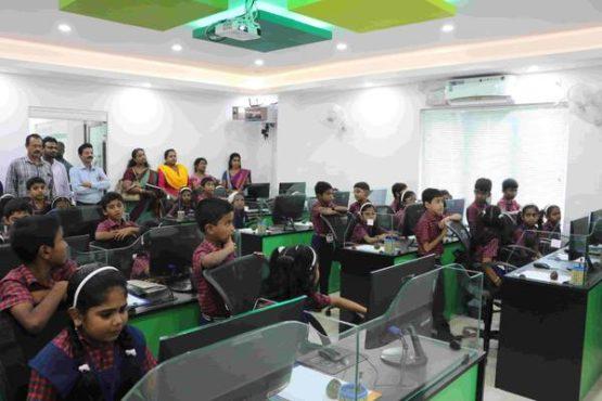kvups school 4 inmarathi