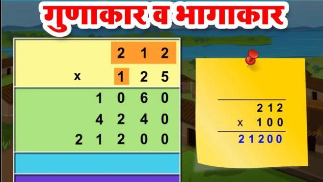 marathi multiplication inmarathi