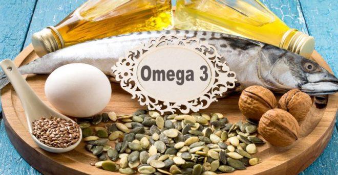 omega 3 inmarathi