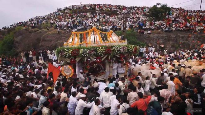 pandharpur wari inmarathi