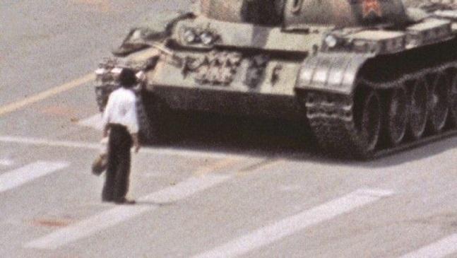 tank man and tiananmen InMarathi