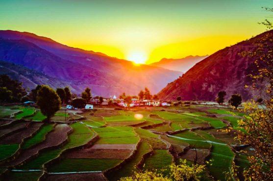 Beautiful-Village-In-India inmarathi