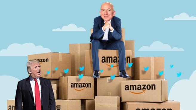 Trump vs Amazon