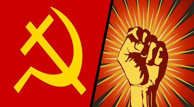 communism socialism inmarathi