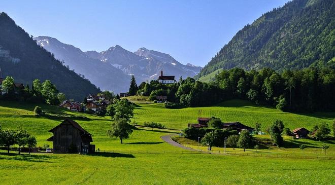 beautiful switzerland InMarathi