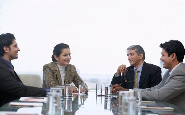 business meeting inmarathi