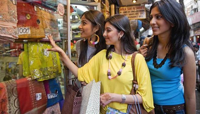 indian girls shopping inmarathi
