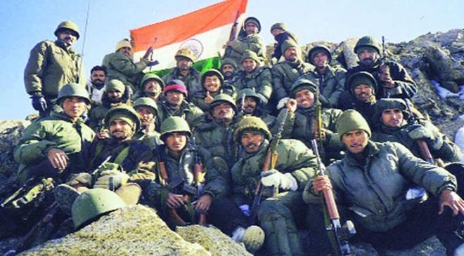 kargil war InMarathi