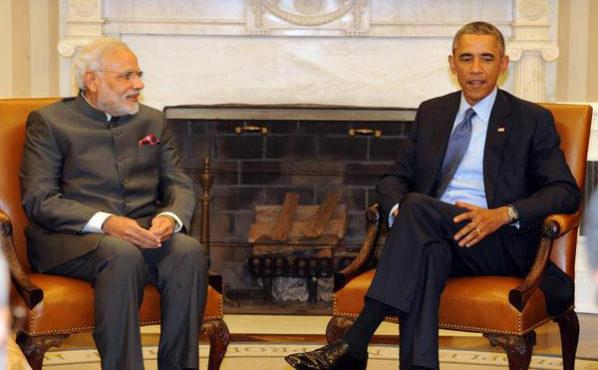 modi-obama- meet Inmarathi
