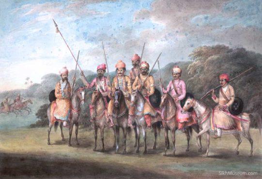 ranjit singh army inmarathi
