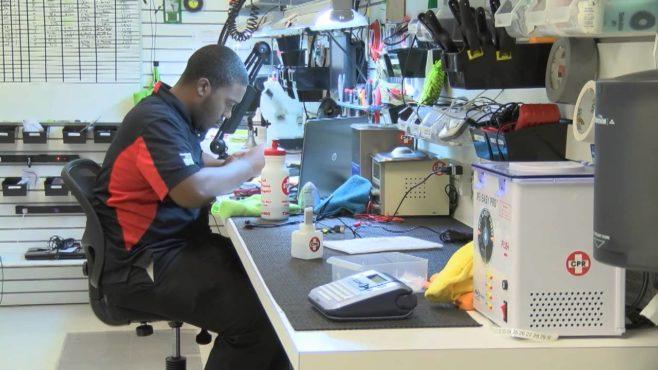 repairing store