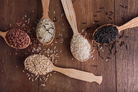 rice variety inmarathi