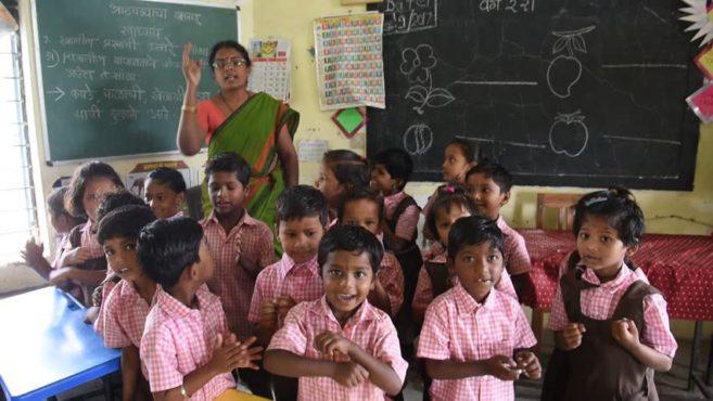 school inmarathi