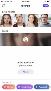 the-home-screen-of-faceapp-once-you-download-it