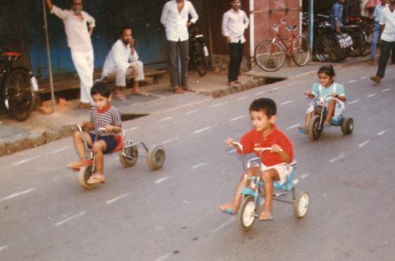 Three Wheel Cycle Inmarathi