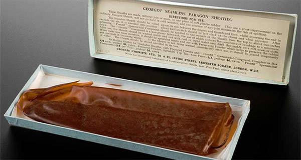 first condom inmarathi