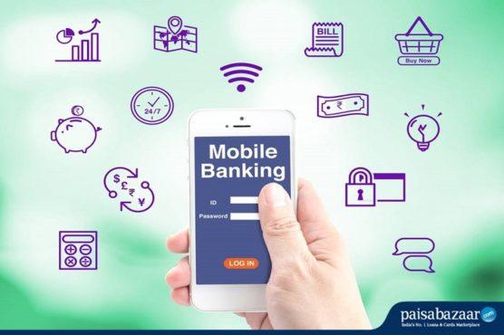 mobile banking inmarathi