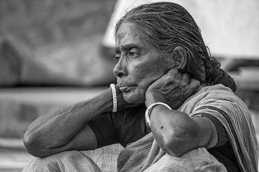 old lady inmarathi