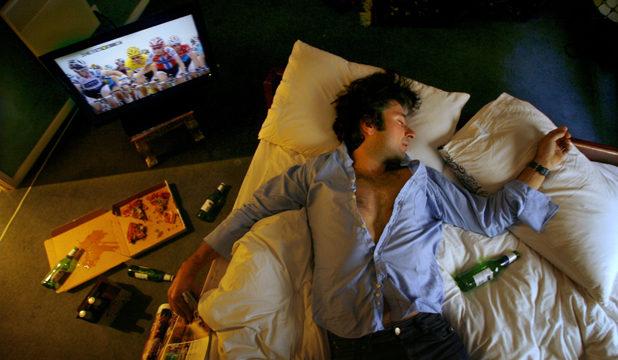 sleepping drinking inmarathi