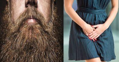 beard causing urinal infection to women inmarathi