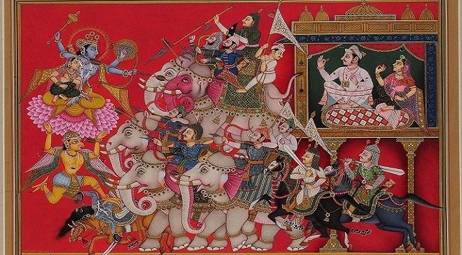 bhagwat maha puran katha poster inmarathi