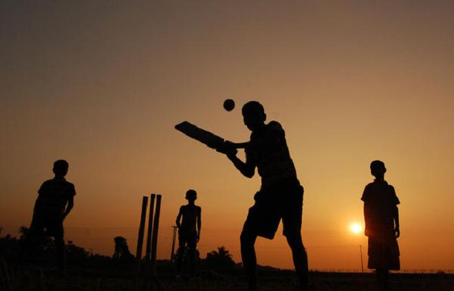 cricket playing inmarathi