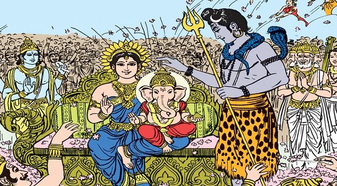ganesh parvati shankar mahadev inmarathi