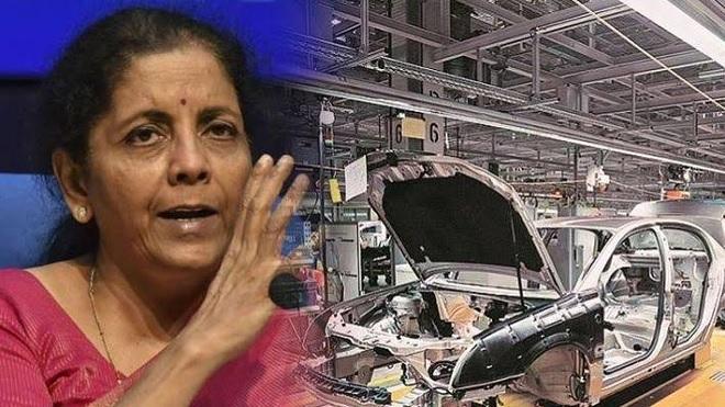 nirmala sitharaman automobile recession inmarathi