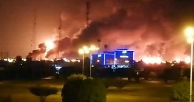 saudi oil facility drone attack inmarathi