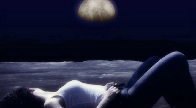 woman under moon InMarathi