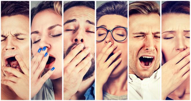 yawning inmarathi