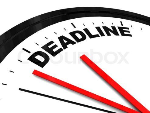 Deadlines Inmarathi
