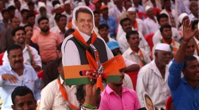 devendra fadnavis election rally campaign crowd inmarathi
