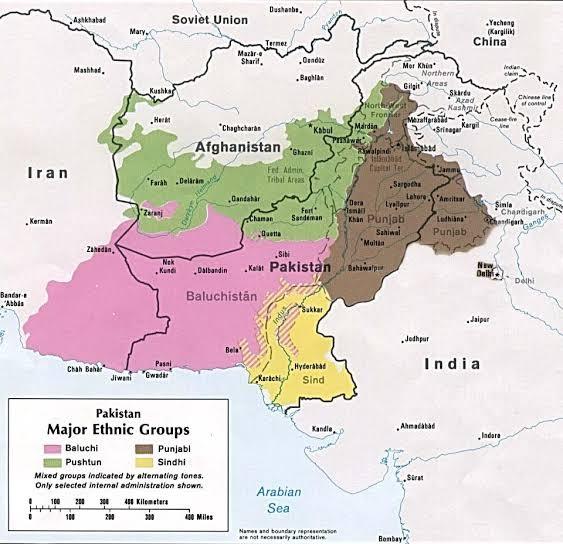 pakistant baluchistan sind ethnic groups inmarathi