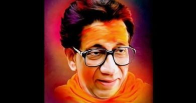 Balasaheb Thackeray graphic inmarathi
