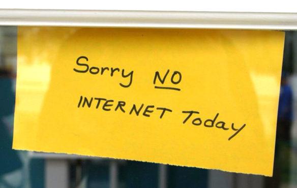 Internet-Not-working InMarathi