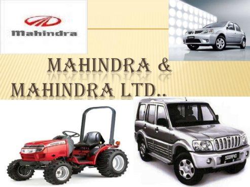 Mahindra InMarathi
