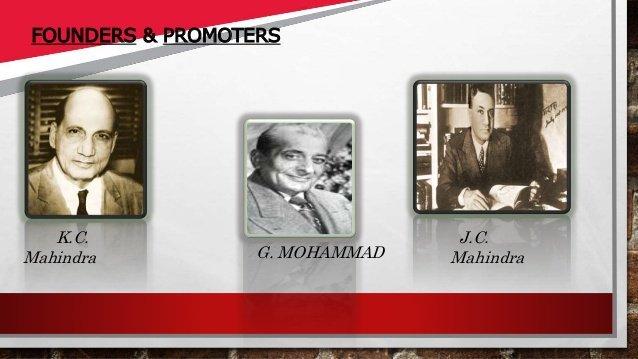 Mahindra and mohommad Inmarathi