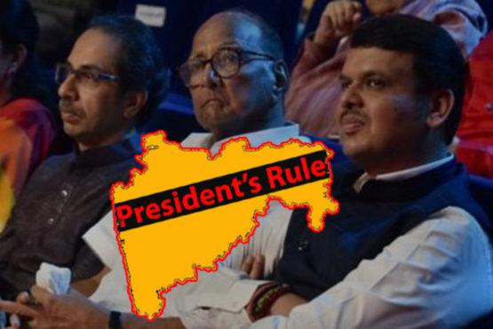President`s Rule InMarathi