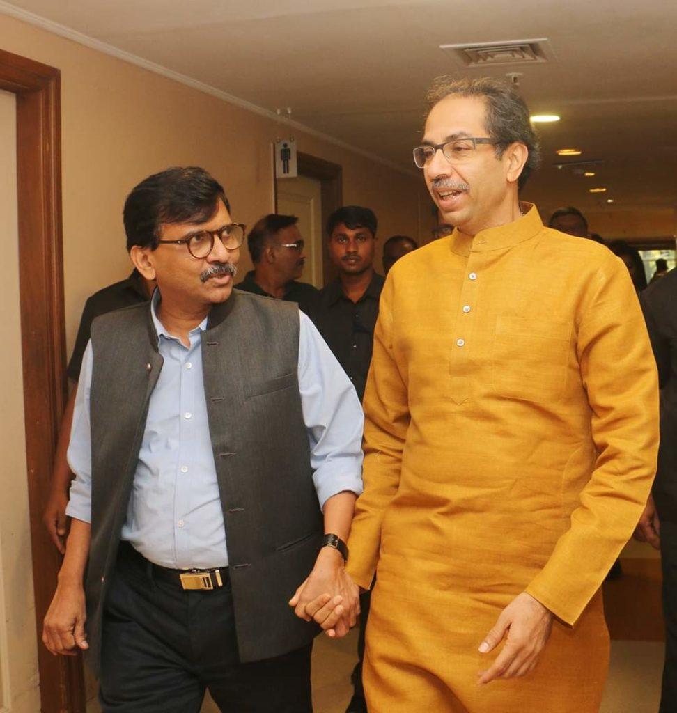 Sanjay Raut Uddhav Thackeray inmarathi
