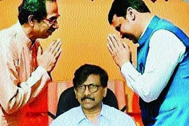 SanjayRaut UddhavThackeray DevendraFadnavis