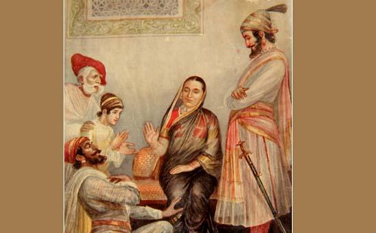 Shivaji Maharaj relations InMarathi